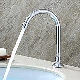 GAOTIAN Pedale rubinetto del bacino rubinetto del bacino rubinetto del laboratorio rubinetto del piede medico caldo e freddo