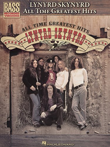 Lynyrd Skynyrd All-Time Greatest Hits Bass Guitar Tab Book