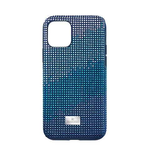 Swarovski Schutzhülle für Smartphone mit festem Schutz, CRYSTALGRAM, iPhone® 11 Pro, Blau – Ref. 5533958