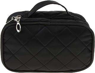 Prettyia Cosmetic Bag Organizer 2 Layers Make Up Case Travel Toiletry Vanity Bag