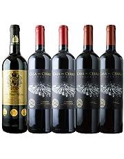 金賞ボルドーとオーパス・ワン醸造家ワイン赤5本セット 赤ワインセット