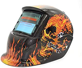 JesseBro76 Solar oscurecimiento automático TIG MIG MMA Máscara de Soldadura eléctrica Soldador Gorra Gris Oscuro y