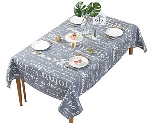 GQY Sfondi - Retro behang - Minimalistisch tafelkleed in Scandinavische stijl Engels