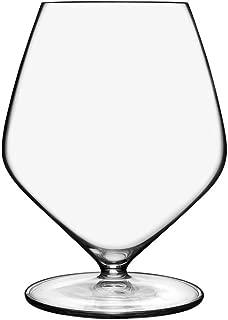 Luigi Bormioli 11900/01 T 20.75 oz Pinot Noir Stemless Red Wine Glasses, Set of 4, Clear