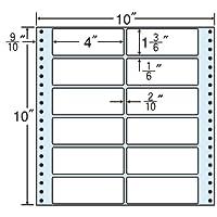 東洋印刷 タックフォームラベル 10インチ ×10インチ 12面付(1ケース500折) M10H