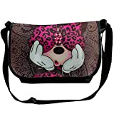 Mickey Minnie Cross body Bag Pocketbooks bolsos bolso ligero del hombro para las mujeres y los hombres bolsa casual de viaje