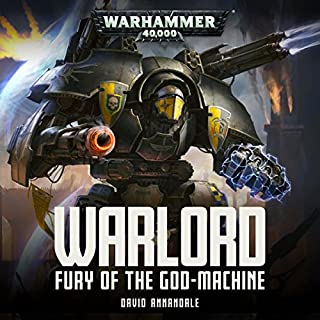 Warlord: Fury of the Godmachine cover art