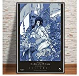 shifangtrade Leinwand Poster Ghost In The Shell Kampf