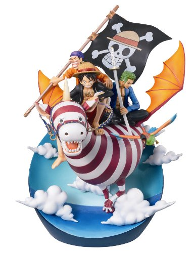 One Piece Real Mccoy 03 Desktop Statue