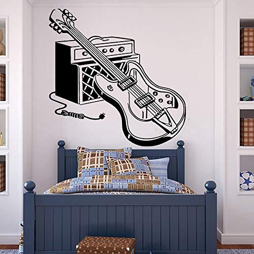 AQjept Etiqueta de la Pared de la Guitarra eléctrica para la habitación...