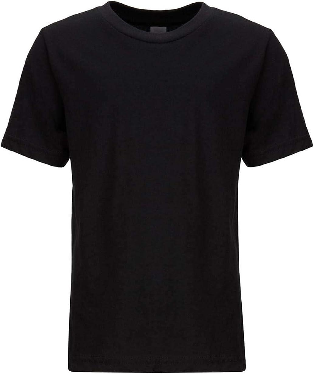 Next Level Kids CVC Crew Neck T-Shirt Black XL