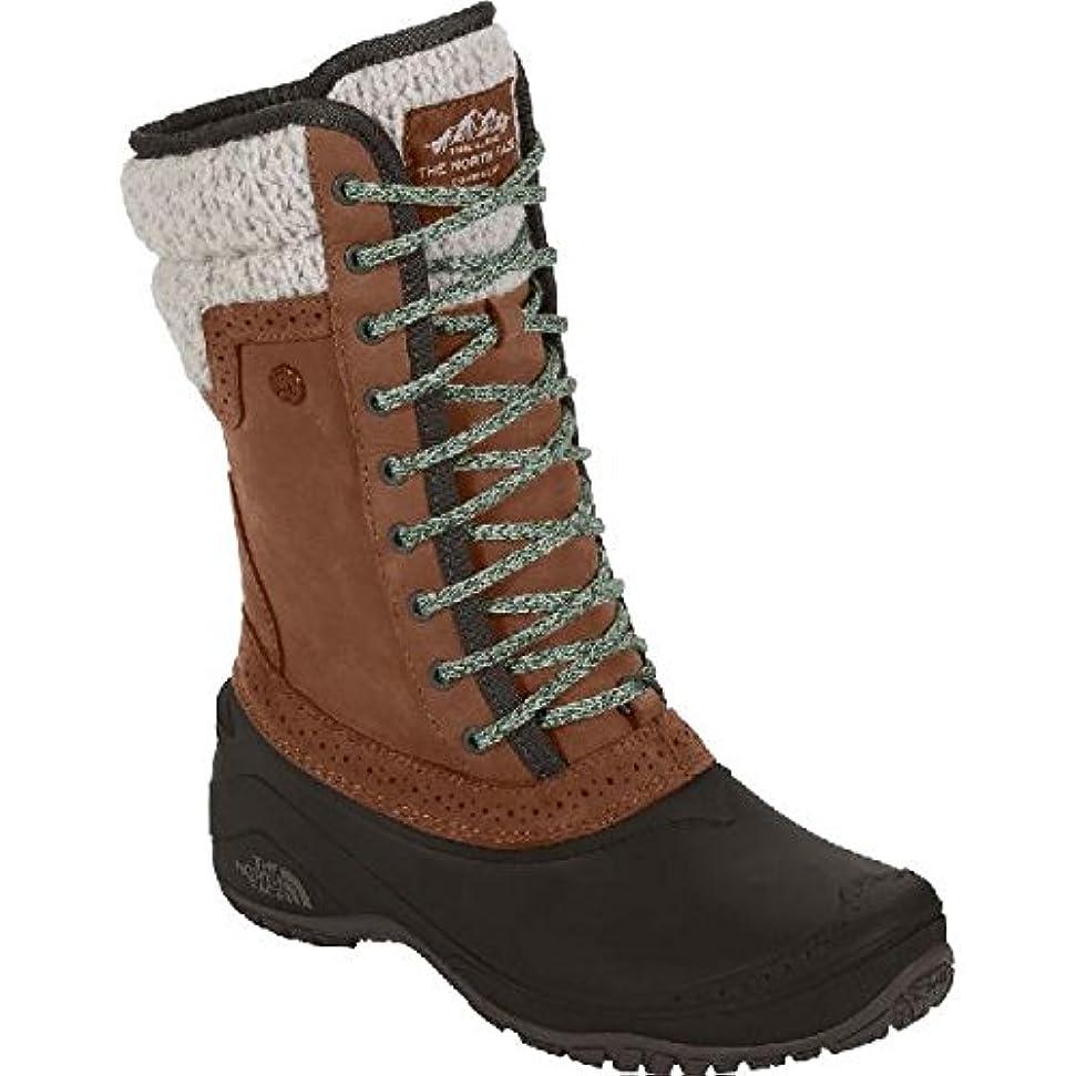 絶妙招待根絶する[ノースフェイス]THE NORTH FACE Women Shellista II Mid Boot Dachshund Brown/Demitasse Brown US9(26cm) [並行輸入品]