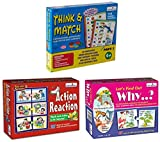 Product 1: Visual Discrimination Product 1: Keen Observation Product 1: Knowledge about Action-Reaction Product 2: Visual Discrimination Product 2: Early Learning Concepts Product 2: Improve ability to Ask and Answer Questions Product 3: Keen Observa...