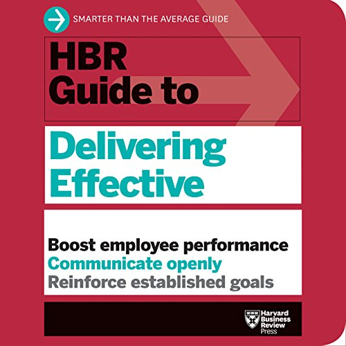 HBR Guide to Delivering Effective Feedback cover art