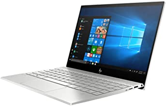 HP Envy 13.3-Inch 4K IPS Touchscreen Laptop, Intel Quad Core i7-8565U up to 4.6 GHz, NVIDIA GeForce MX250, 16GB DDR4 RAM, 512GB PCle SSD, HDMI, WiFi, Bluetooth, Backlit KB, Windows 10 Home