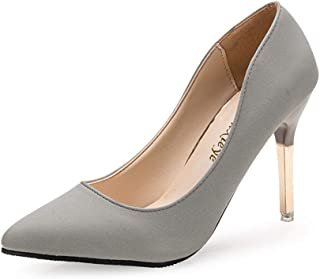 通用 Hebang Women High Heel Shoes Pull-on 8 cm for Dress 35-39