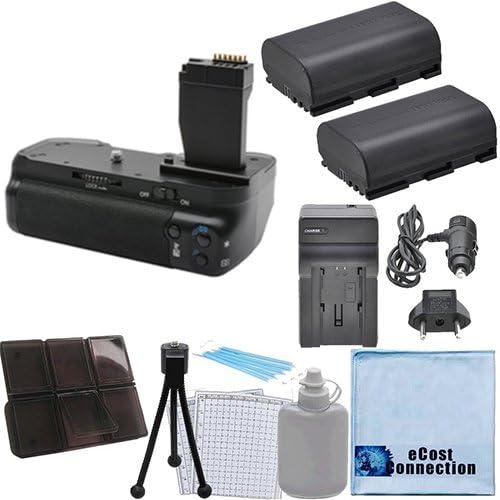 Battery Grip for Canon T6I T6S 2 DSLR Max 56% OFF + LP-E17 San Antonio Mall Batteries Cameras