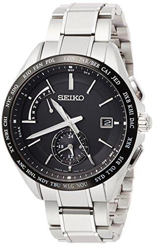 [セイコーウォッチ] 腕時計 ブライツ デュアルタイム表示 SAGA233 シルバー