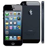 iPhone 5 Black 16GB Unlocked ATT Tmobile Sprint Metro Cricket Straight Talk (Renewed)