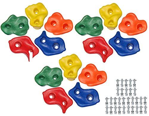 OTITU Just Fun Pierres d escalade en Plastique (Set = 15 pièces)