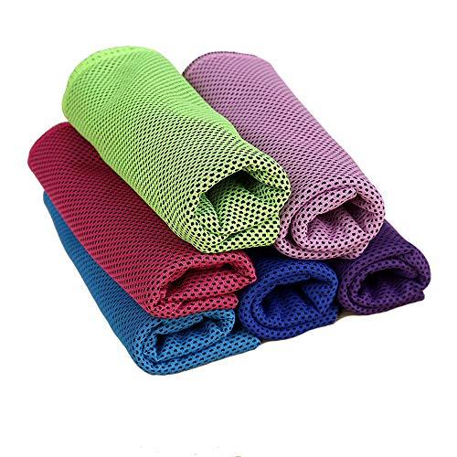 Koeling Yoga Handdoek, Cool Neck wrap Handdoek, Koeling Handdoeken voor Sport Snelle Droge Hot Yoga Handdoek voor Gym,Workout, Bikram, Pilates