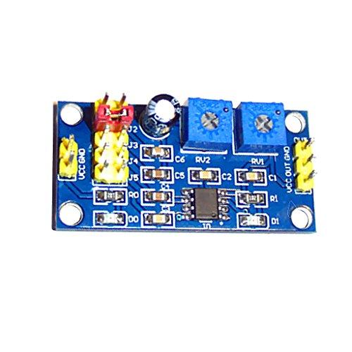 MagiDeal NE555 Signal-Generator Signalgenerator Funktionsgenerator Bausatz Welle Signalgenerator