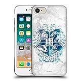 Head Hülle Designs Offizielle Harry Potter Hogwarts Aguamenti Deathly Hallows IX Soft Gel Huelle kompatibel mit Apple iPhone 7 / iPhone 8 / iPhone SE 2020