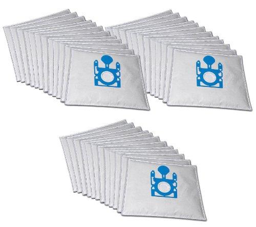 Hossi's Wholsale, Set di 30 sacchetti Premium per aspirapolvere Bosch BGL 35 Move