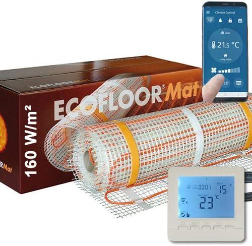 560 Watt PREMIUM Fußbodenheizung elektrisch Fliese Bad Heizmatte Thermostat 3,5 m²