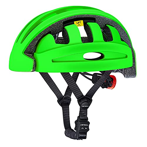 Casco de Bicicleta para Adulto Plegable Helmet. Casco de Bici y Patinete...