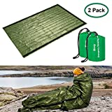 Shayson Survival Sleeping Bag, Emergency Bivvy Bag PE Aluminum...