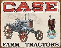 Case Farmトラクター-CC Highティンサイン
