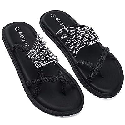 Amazon - Save 51%: UTENAG Comfort Flat Sandals for Womens Summer Strappy Flip Flops