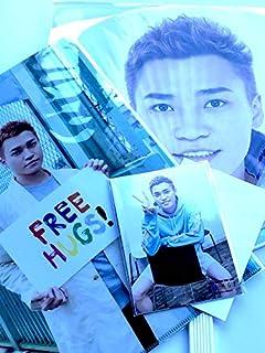 Kis-My-Ft2 【(二階堂高嗣)ジャンボうちわ+クリアファイル+オリジナルフォトセット】LIVE TOUR 2019 FREE HUGS! + 公式写真 1種 セット...