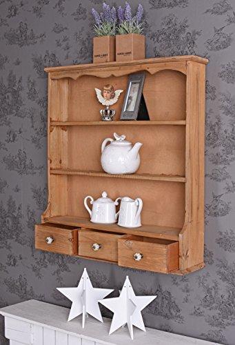 Wandregal Landhausstil Küchenregal Wandschrank Wandablage Antikstil mxa054 Palazzo Exklusiv