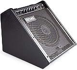 Coolmusic 100W Bluetooth Amplificador de monitor personal Amplificador de tambor eléctrico Altavoz, teclado y altavoz de guitarra acústica