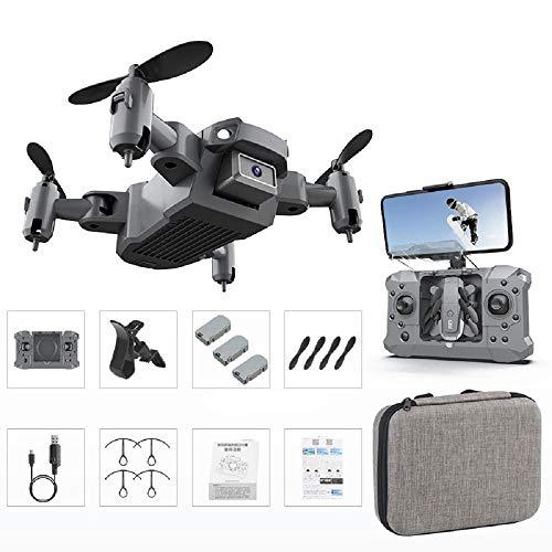 Mini Drone para niños, KY905 Drone plegable 4K Cámara HD con retención de altitud, Modo sin cabeza, Control por gestos, Juguetes de control remoto Regalos para adultos Niños Niñas