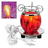 ERCZYO AC100V Électrique Parfumé Chauffant Lampe De Bureau Cire...