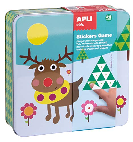 APLI Kids- Juego de Pegatinas, Multicolor, (13950)