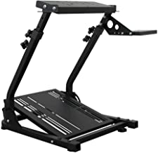 $105 » Sponsored Ad - LOYALHEARTDY Racing Wheel Stand Simulator Cockpit Stand Game Bracket Wheel Stand Steering for Logitech Driv...