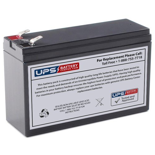 UPSBatteryCenter Compatible Replacement Battery for APC Back-UPS ES 500 BE500U