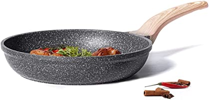 CAROTE Nonstick PFOA Free Safe to Use Granite Coating from Switzerland Frying Pan - All Stove and Induction Compatible,...