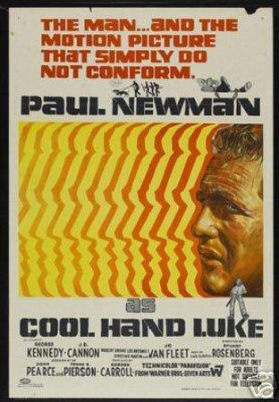 Hot Stuff Enterprise 8046-12x18-LM Cool Hand Luke Paul Newman Poster by Hot Stuff Enterprise