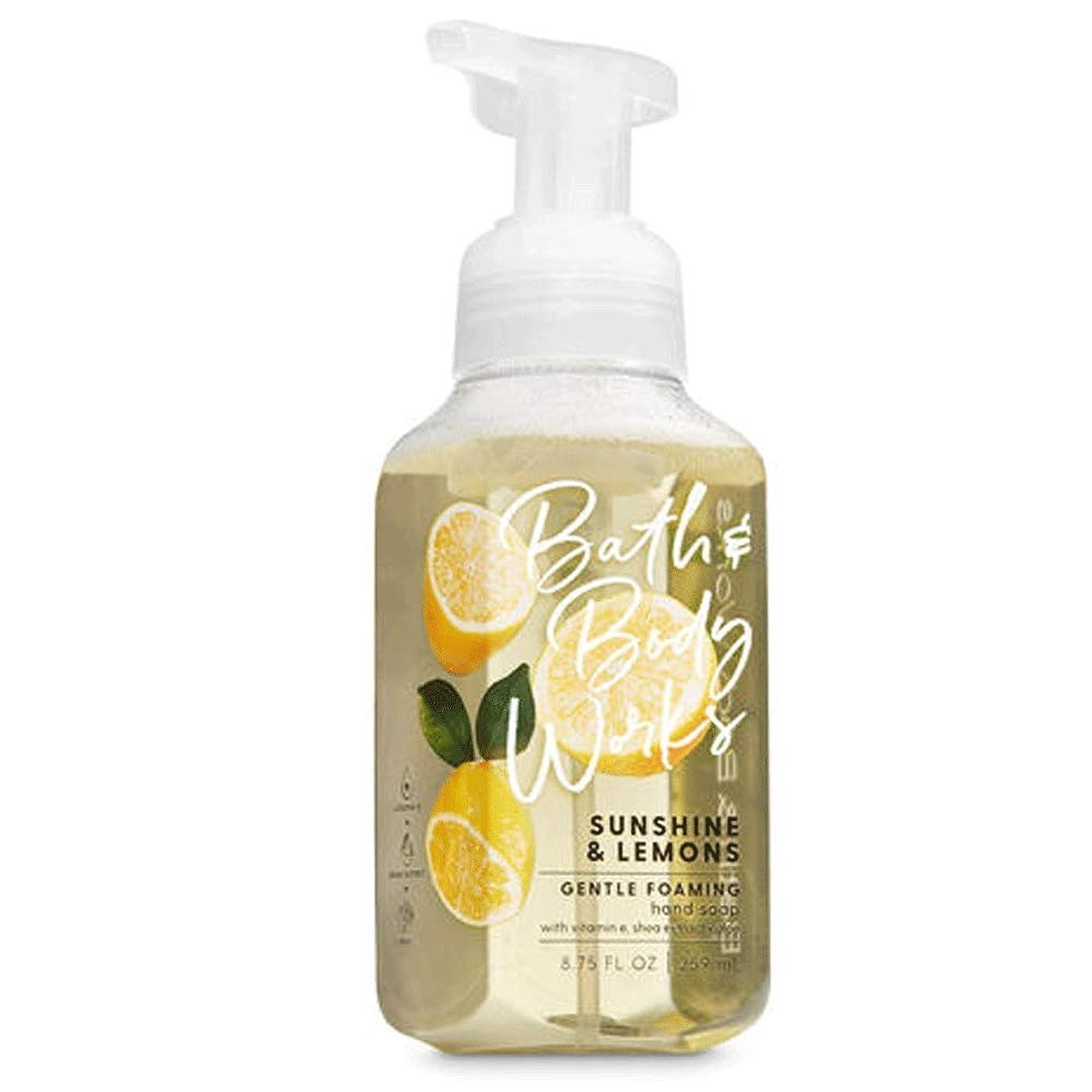 クレーンスポーツインポートバス&ボディワークス サンシャインレモン ジェントル フォーミング ハンドソープ Sunshine & Lemons Gentle Foaming Hand Soap