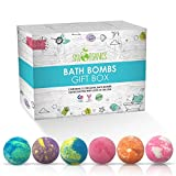 Ultra Lush Large Bath Bombs Gift Set (12 Count x 3.2 oz) Assorted Scents - Bath Bomb Kit, Best for Aromatherapy, Relaxation, Moisturizing with Natural Essential Oils -Handmade in USA -Spa Fizzies