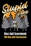 "Disc Golf Scorebook: 100 Disc Golf Scorecards 6""x9"""