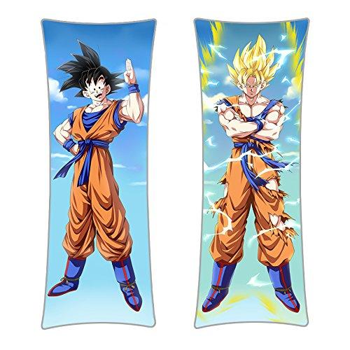 CoolChange Funda para Almohada Dakimakura de Dragon Ball, 150x50cm, Tema: Son Goku