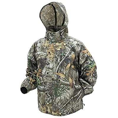 FROGG TOGGS Men's Pro Action Waterproof Rain Jacket, Realtree Edge, XXX-Large PA63123 by Frogg Toggs