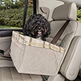 PetSafe Solvit Tagalong Deluxe Pet Car Booster Seat for Dogs, Extra Large
