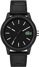 Lacoste Men's TR90 Quartz Watch with Rubber Strap, Black, 20 (Model: 2010986)